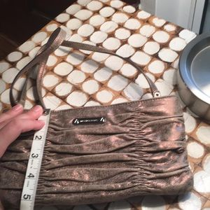Michael Kors Bags - MK beautiful bronze crossbody/clutch
